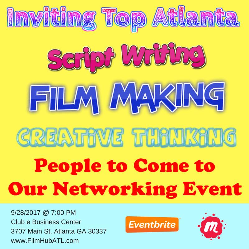 FilmHubATL Networking Event (1)
