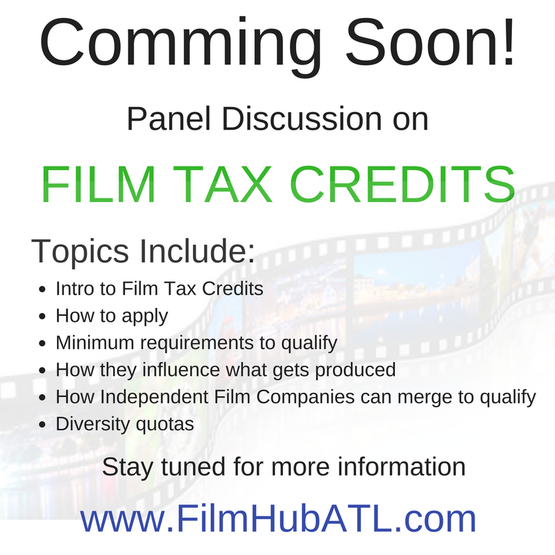 Film Tax Credits FilmHubATL