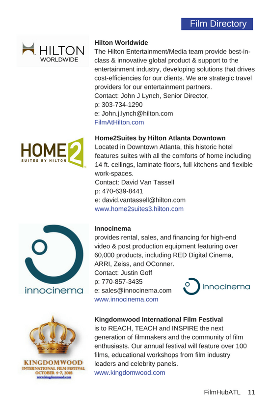 Hilton Innocinema Home2Suites Kingdomwood Film Festival