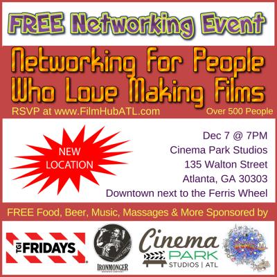 FilmHubATL - Networking Event Cinema Park Studios