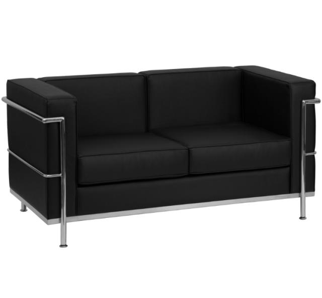 black leather loveseat regal.jpg