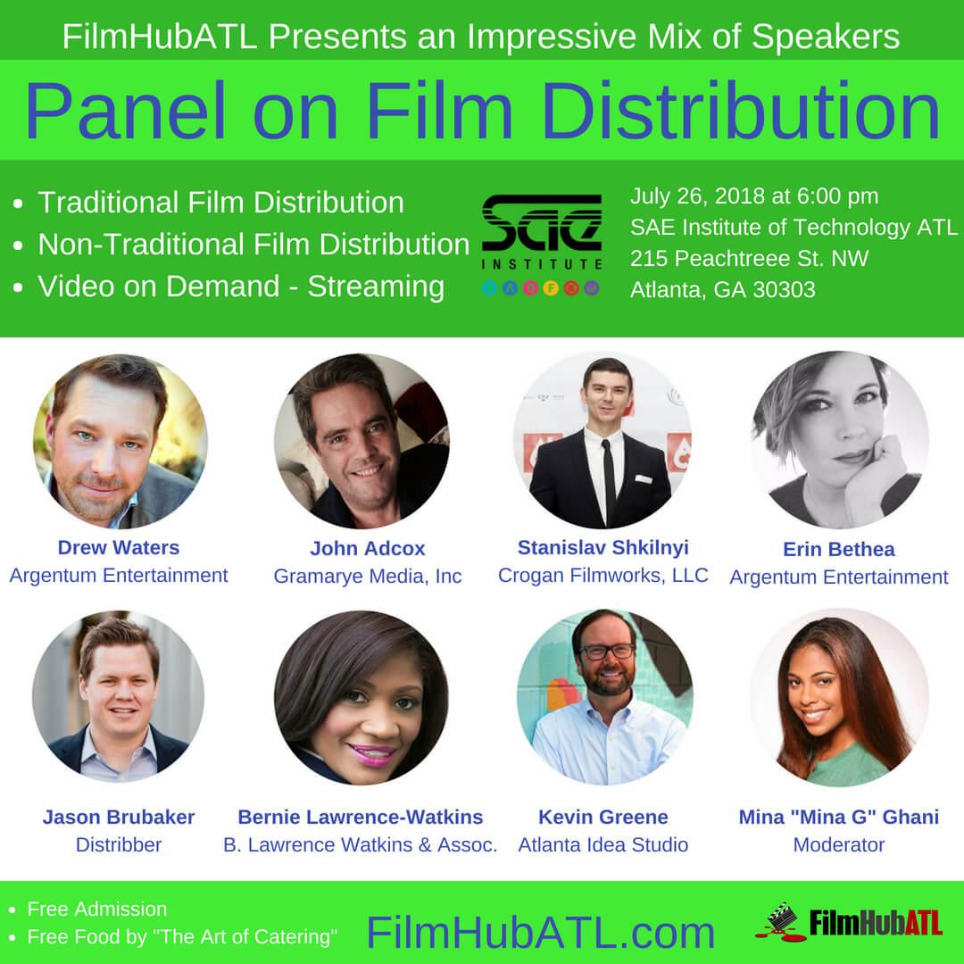Film Distribution Panel by FilmHubATL