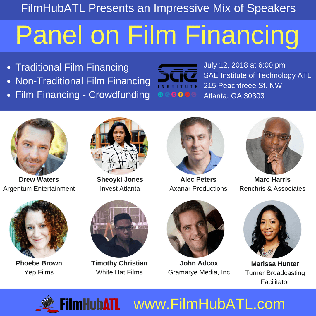 FilmHubATL FilmFinancing Panel