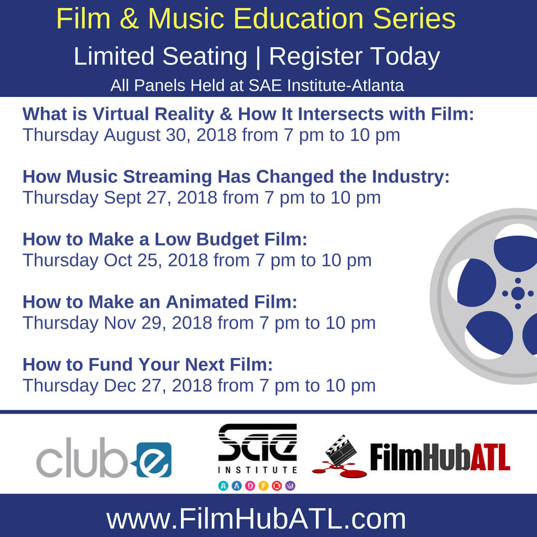 Film and Music Education Series by FilmHubATL