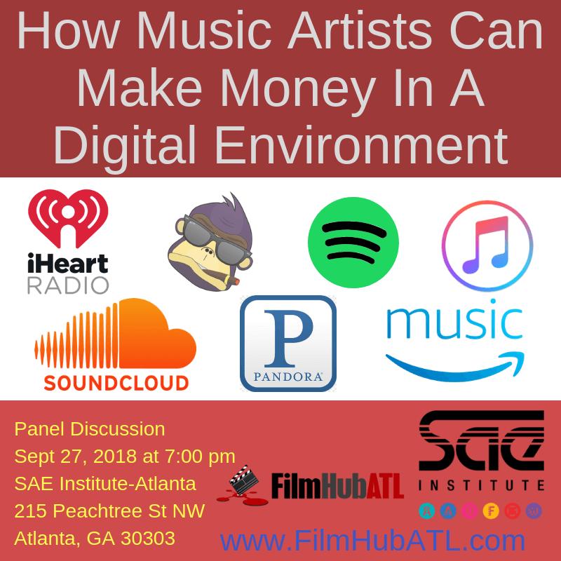 Music Streaming Panel